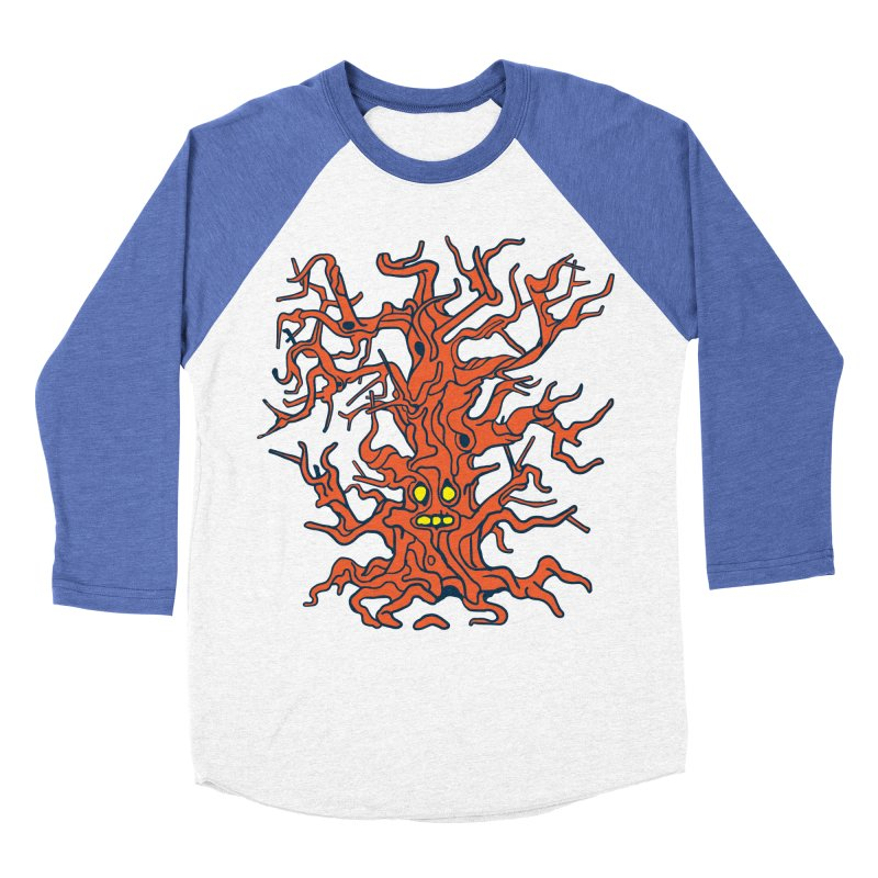 Spirit Tree Men's Baseball Triblend Longsleeve T-Shirt by My Metal Hand Artist Shop