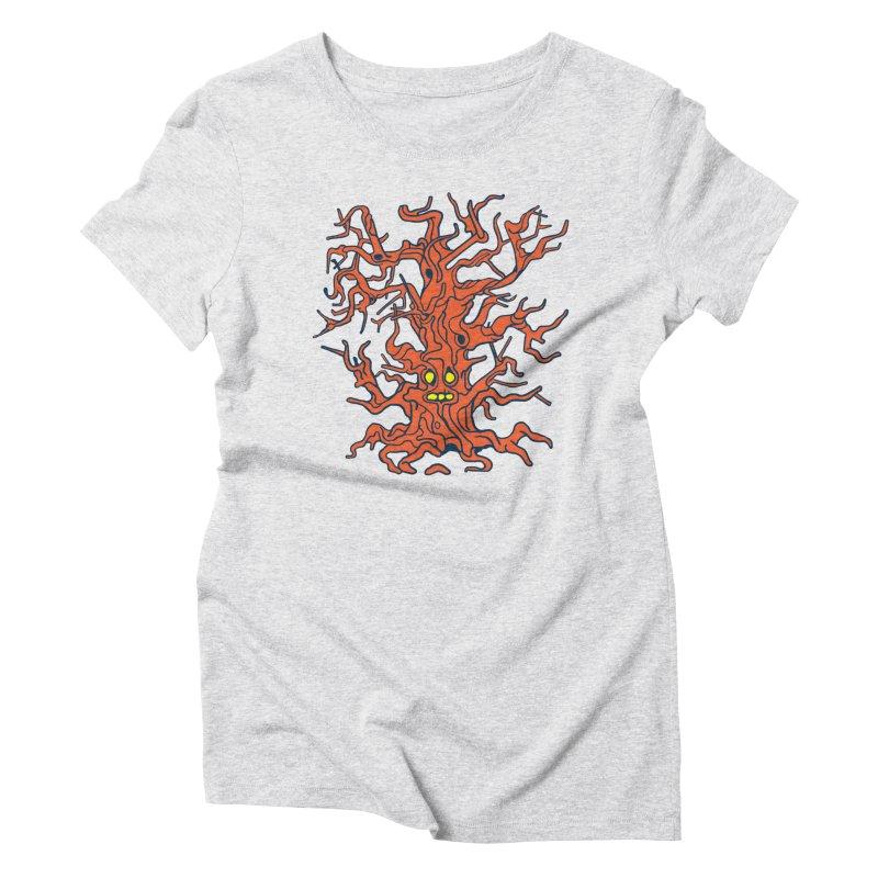 Spirit Tree Women's Triblend T-Shirt by My Metal Hand Artist Shop