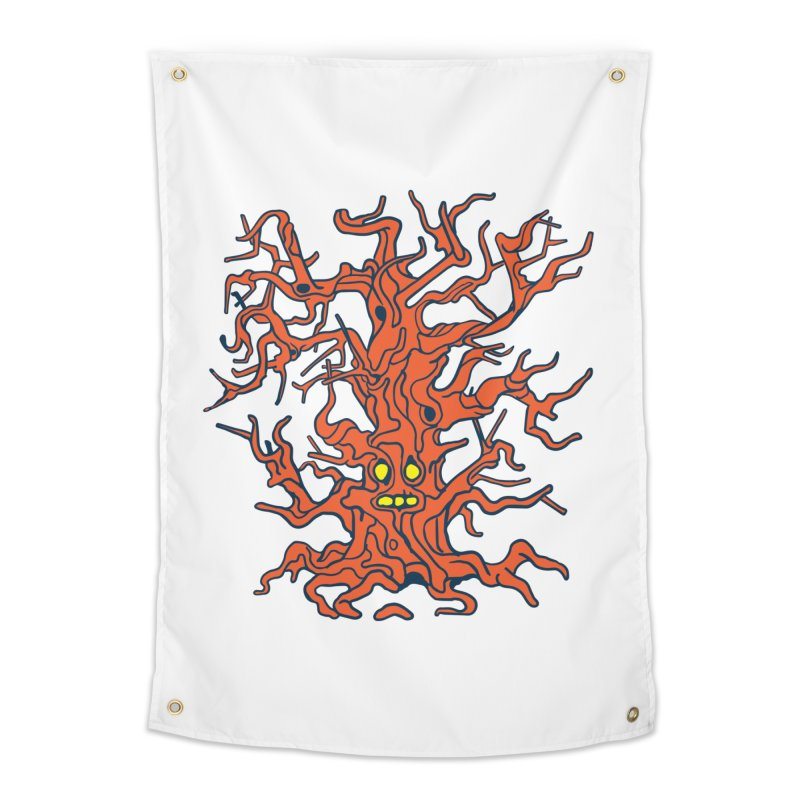 Spirit Tree Home Tapestry by My Metal Hand Artist Shop