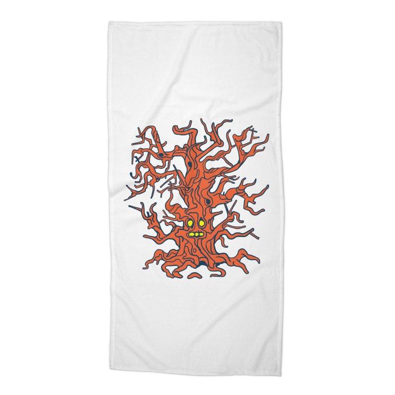 Spirit Tree Accessories Beach Towel by My Metal Hand Artist Shop
