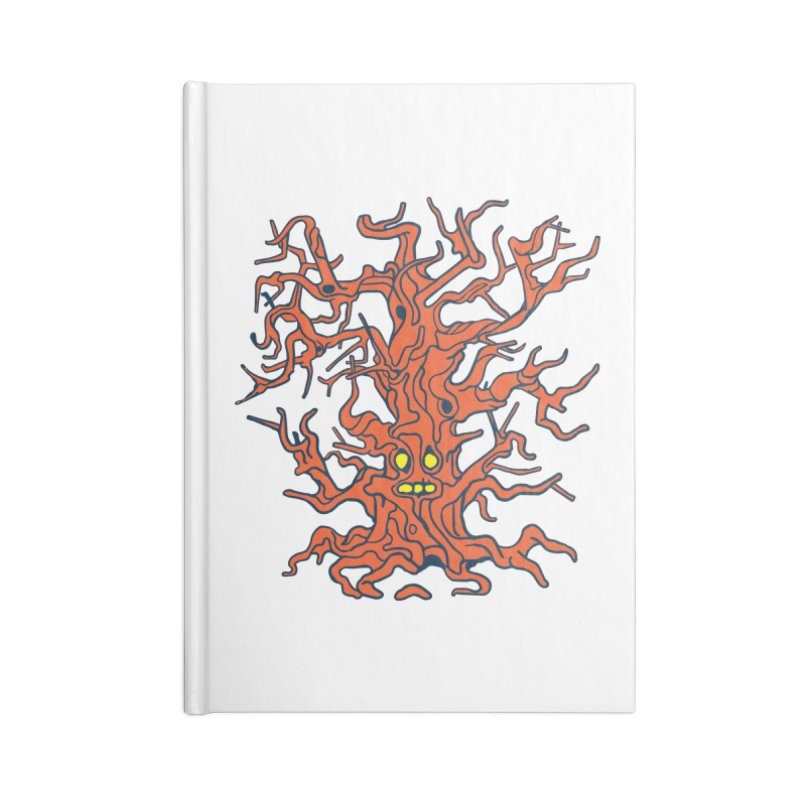 Spirit Tree Accessories Lined Journal Notebook by My Metal Hand Artist Shop