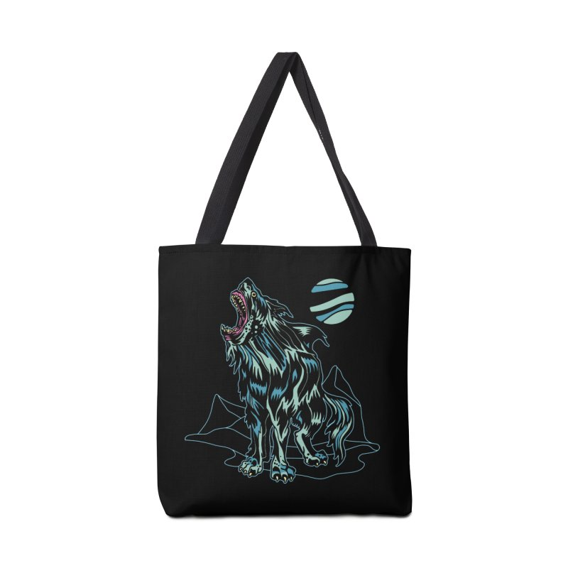 Shark Wolf 2018 Accessories Tote Bag Bag by My Metal Hand Artist Shop