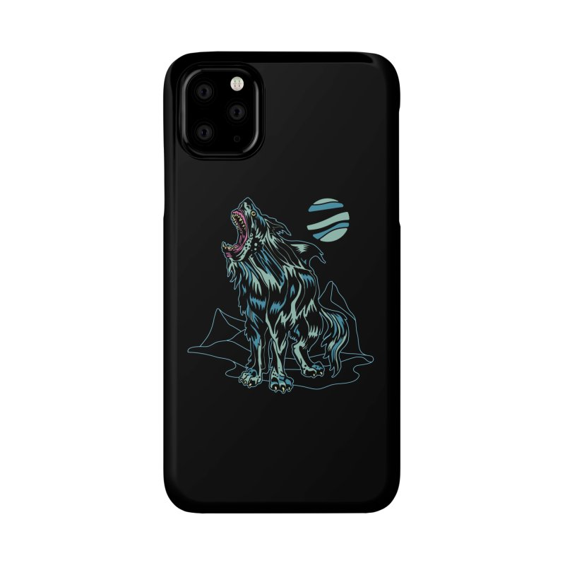 Shark Wolf 2018 Accessories Phone Case by My Metal Hand Artist Shop