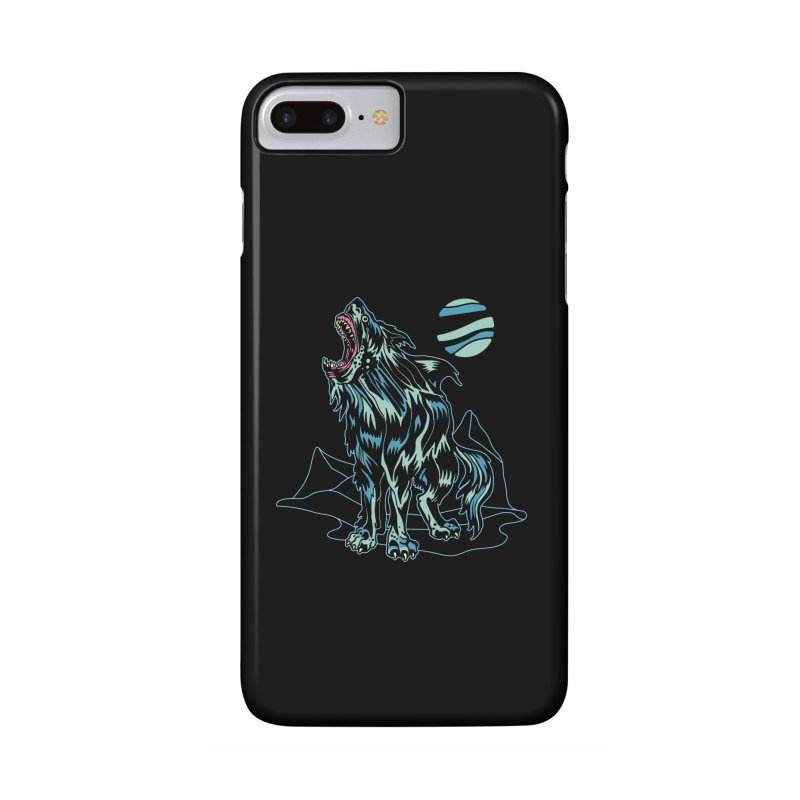 Shark Wolf 2018 Accessories Phone Case by My Metal Hand Artist Shop
