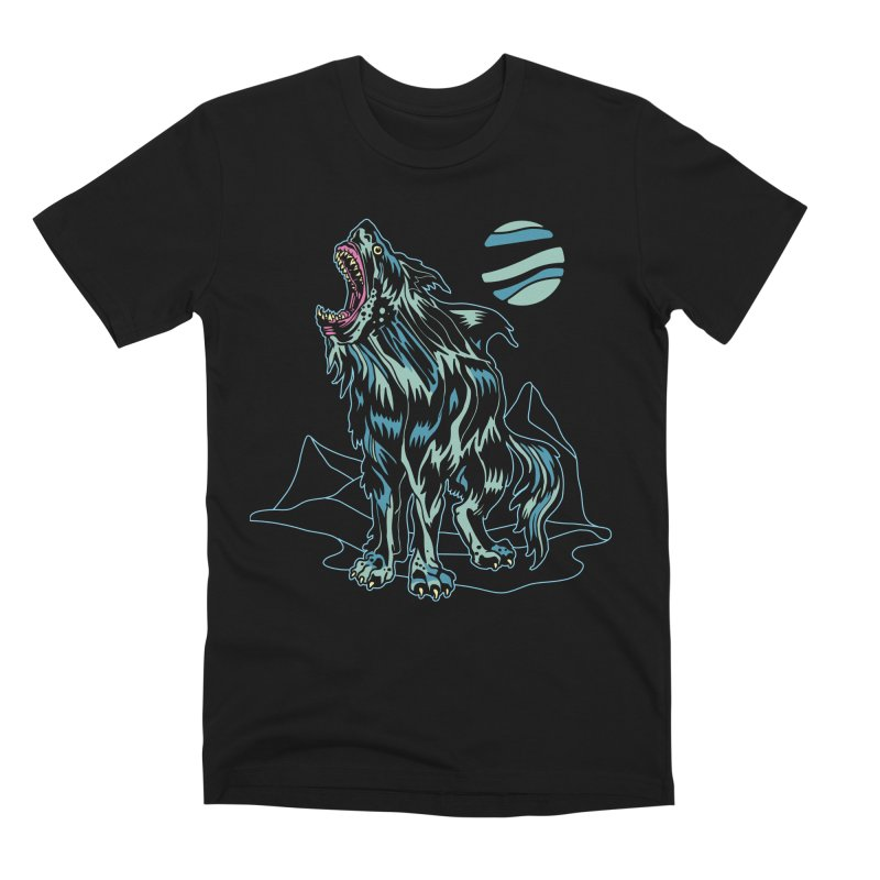 Shark Wolf 2018 Men's Premium T-Shirt by My Metal Hand Artist Shop