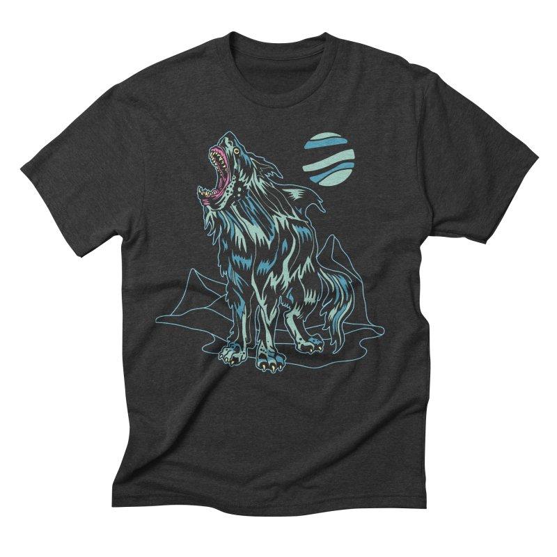 Shark Wolf 2018 Men's T-Shirt by My Metal Hand Artist Shop