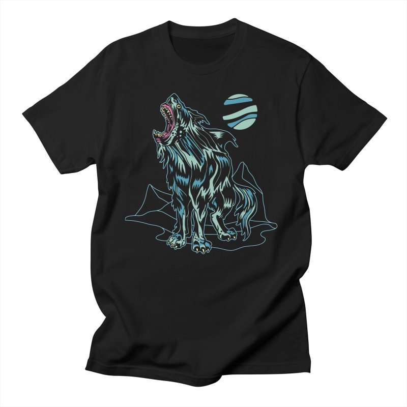 Shark Wolf 2018 Women's Regular Unisex T-Shirt by My Metal Hand Artist Shop