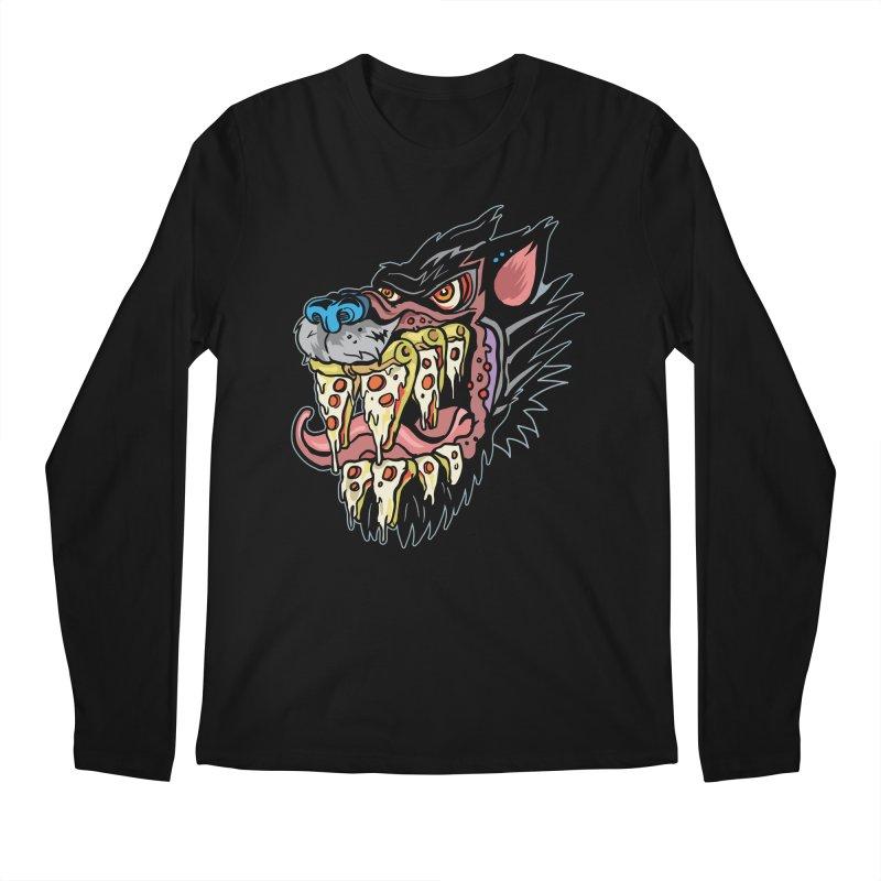 Slice Fang Men's Regular Longsleeve T-Shirt by My Metal Hand Artist Shop