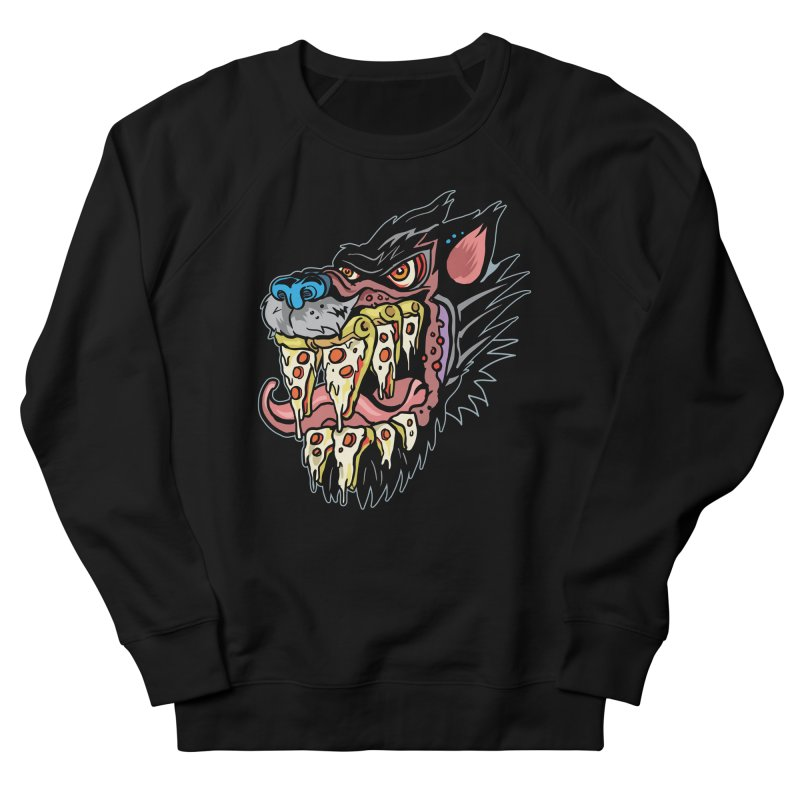 Slice Fang Men's French Terry Sweatshirt by My Metal Hand Artist Shop