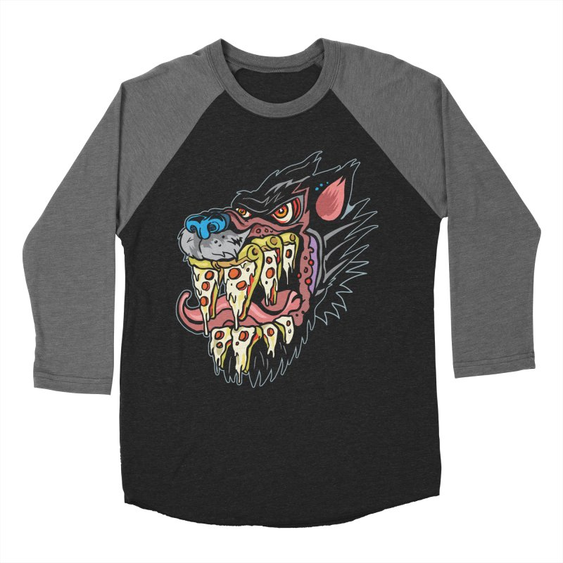 Slice Fang Men's Baseball Triblend Longsleeve T-Shirt by My Metal Hand Artist Shop