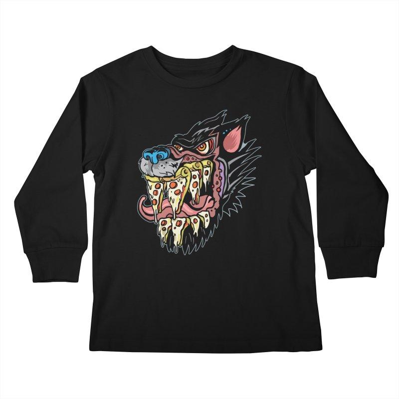 Slice Fang Kids Longsleeve T-Shirt by My Metal Hand Artist Shop