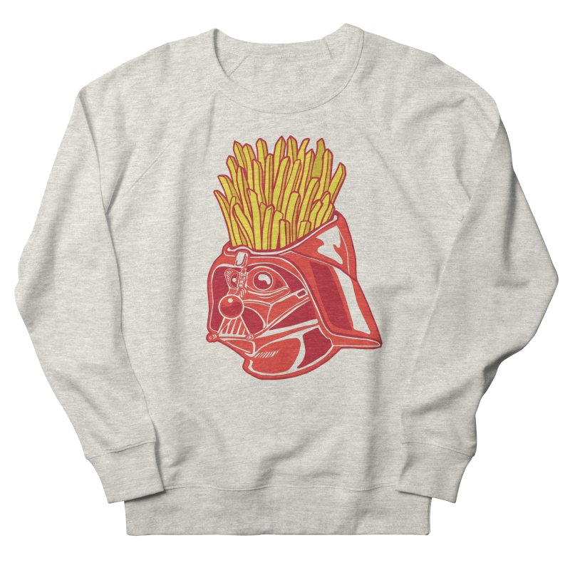 The Starch Side Men's French Terry Sweatshirt by My Metal Hand Artist Shop