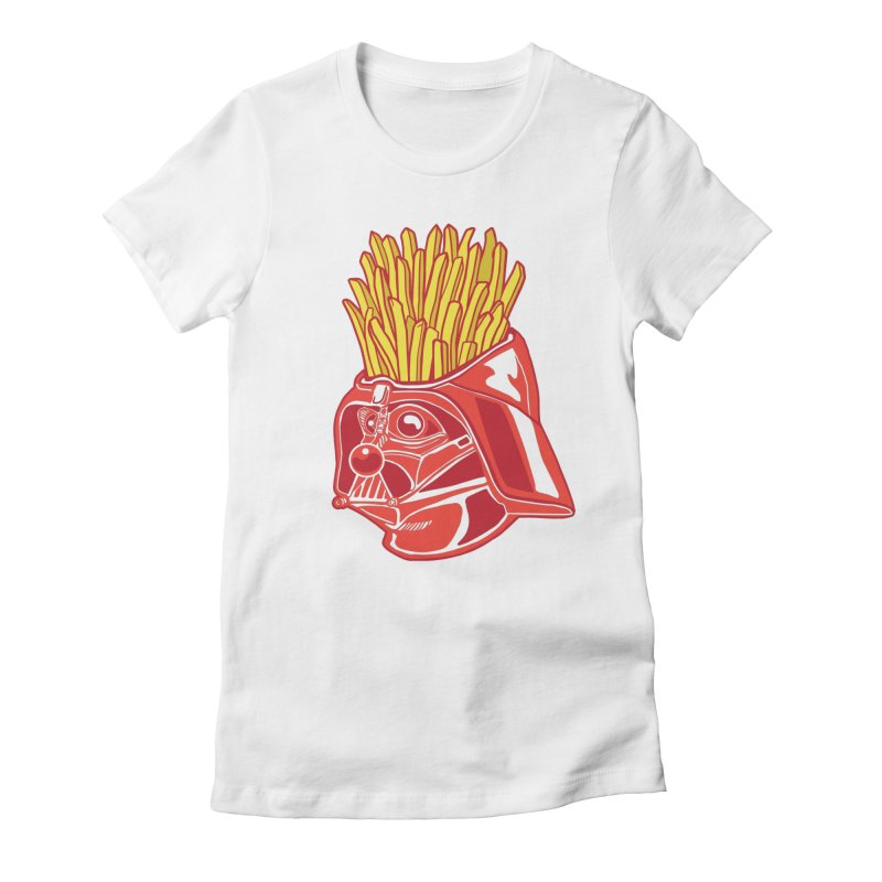 The Starch Side Women's Fitted T-Shirt by My Metal Hand Artist Shop