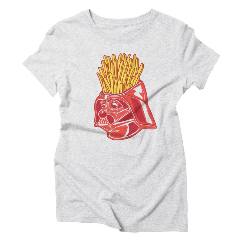 The Starch Side Women's Triblend T-Shirt by My Metal Hand Artist Shop