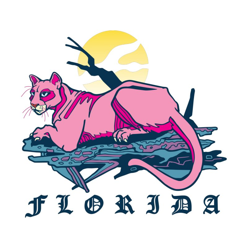 Florida Panther Men's Tank by My Metal Hand Artist Shop