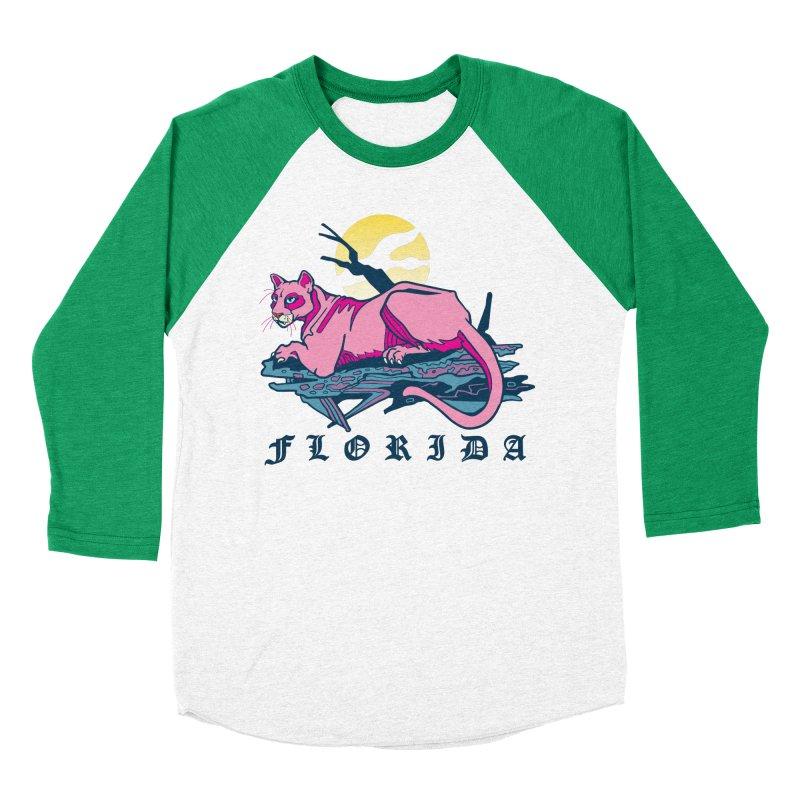 Florida Panther Women's Baseball Triblend Longsleeve T-Shirt by My Metal Hand Artist Shop