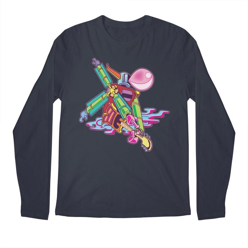 My Metal Windmill Men's Regular Longsleeve T-Shirt by My Metal Hand Artist Shop