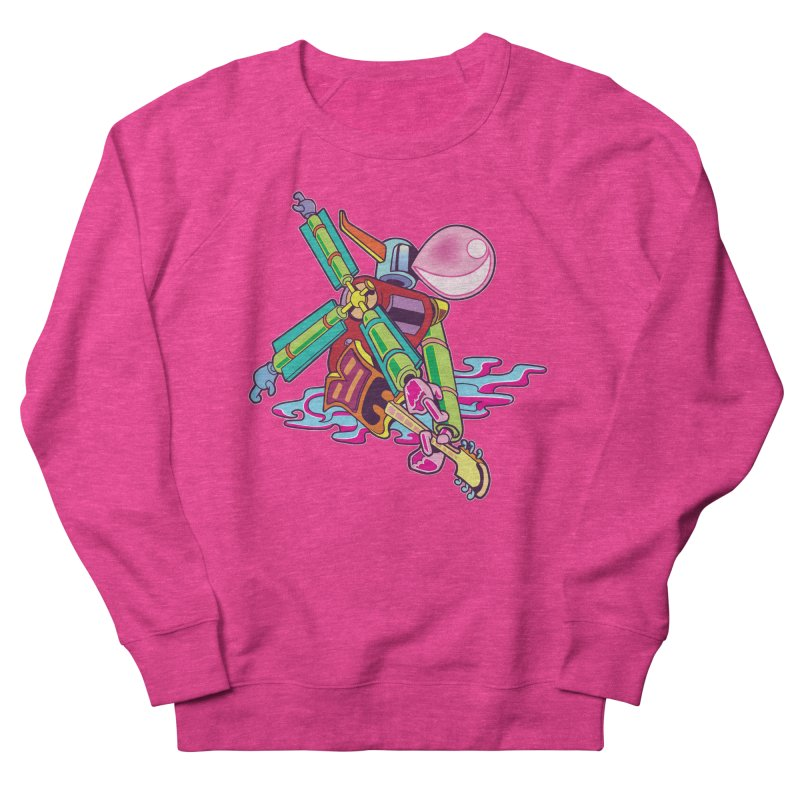 My Metal Windmill Women's French Terry Sweatshirt by My Metal Hand Artist Shop