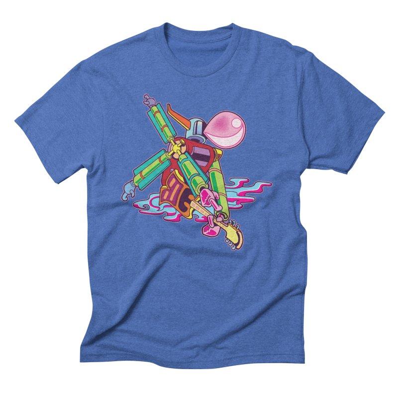My Metal Windmill Men's Triblend T-Shirt by My Metal Hand Artist Shop