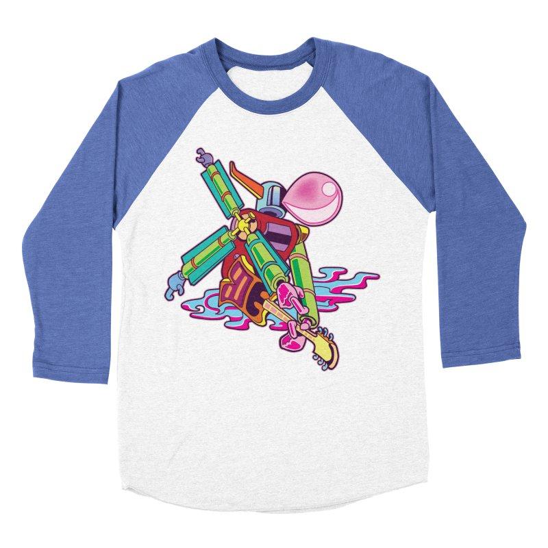 My Metal Windmill Men's Baseball Triblend Longsleeve T-Shirt by My Metal Hand Artist Shop