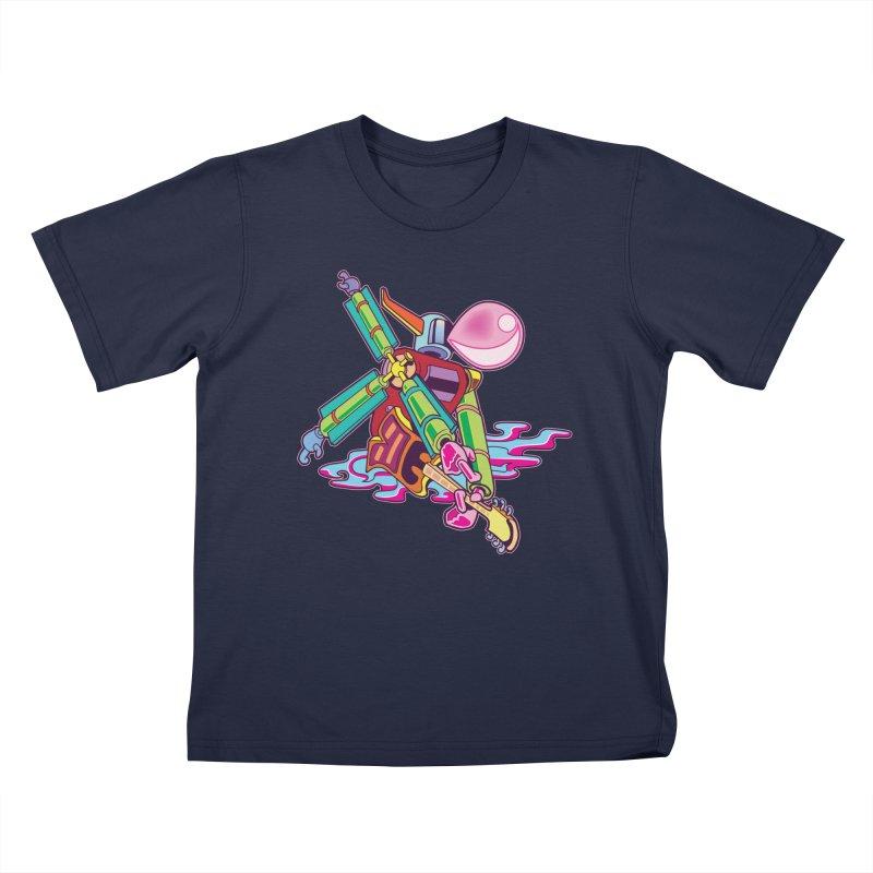My Metal Windmill Kids T-Shirt by My Metal Hand Artist Shop