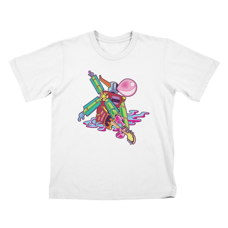 My Metal Windmill Kids T-Shirt by My Metal Hand Artist Shop