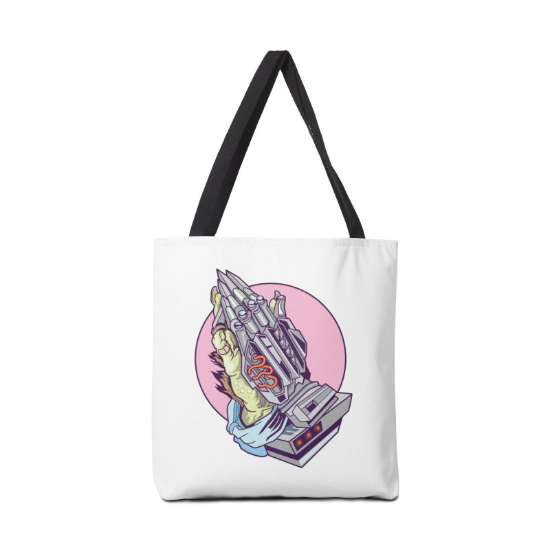 My Metal Prayer Accessories Tote Bag Bag by My Metal Hand Artist Shop