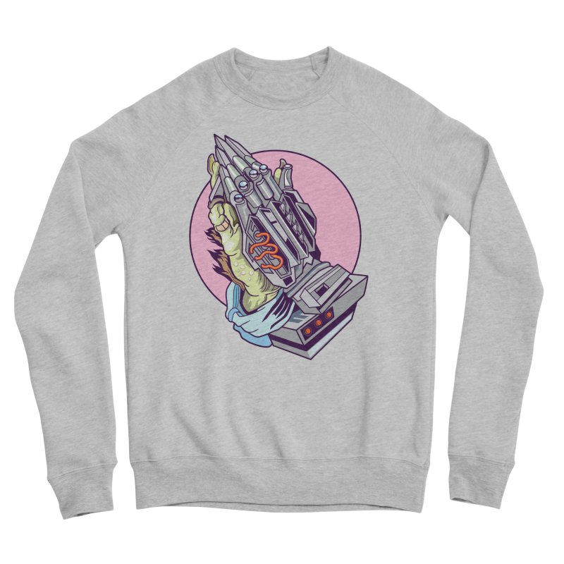 My Metal Prayer Women's Sponge Fleece Sweatshirt by My Metal Hand Artist Shop