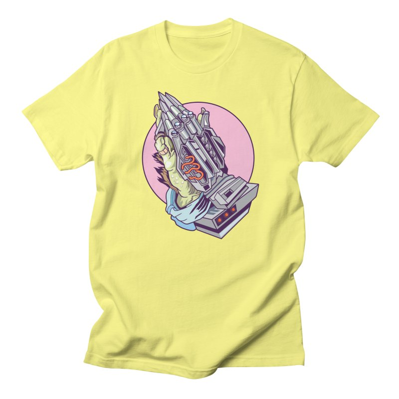 My Metal Prayer Men's T-Shirt by My Metal Hand Artist Shop