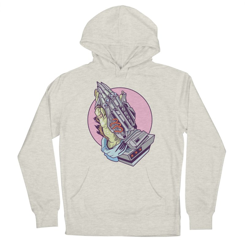 My Metal Prayer Women's French Terry Pullover Hoody by My Metal Hand Artist Shop