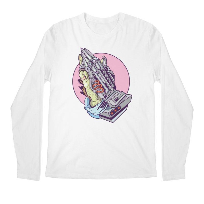 My Metal Prayer Men's Regular Longsleeve T-Shirt by My Metal Hand Artist Shop