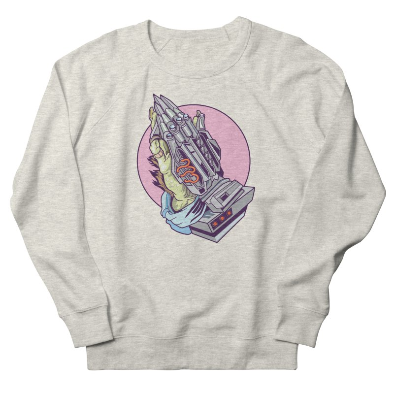 My Metal Prayer Women's French Terry Sweatshirt by My Metal Hand Artist Shop