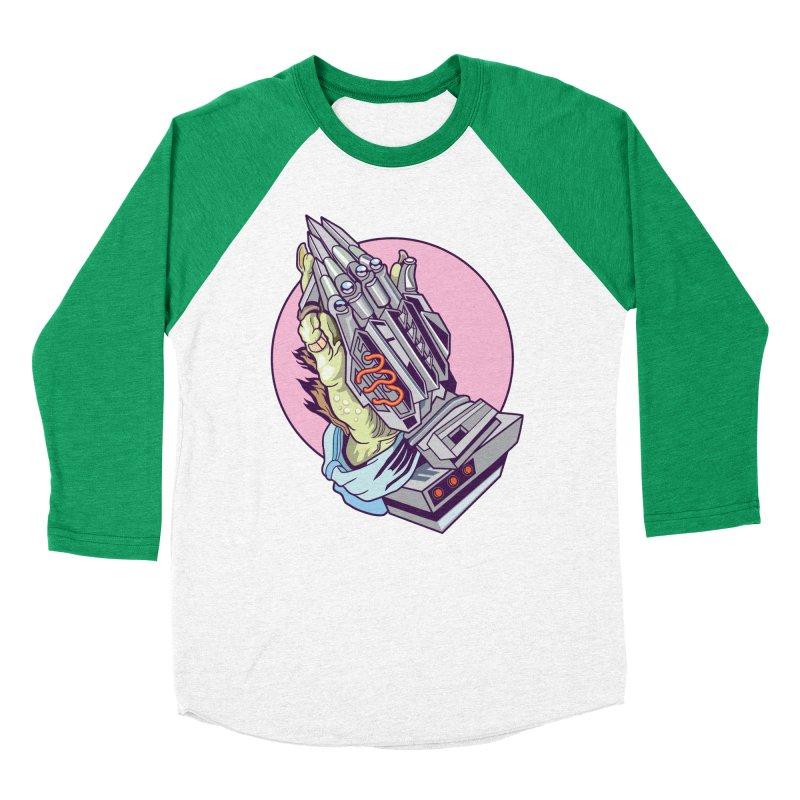 My Metal Prayer Women's Baseball Triblend Longsleeve T-Shirt by My Metal Hand Artist Shop