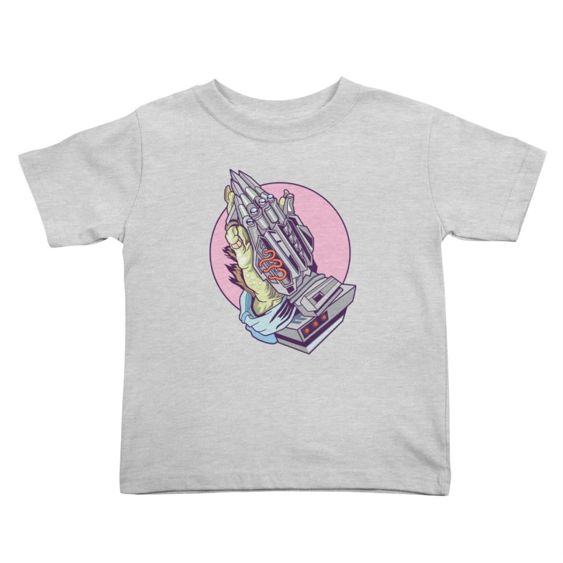My Metal Prayer Kids Toddler T-Shirt by My Metal Hand Artist Shop