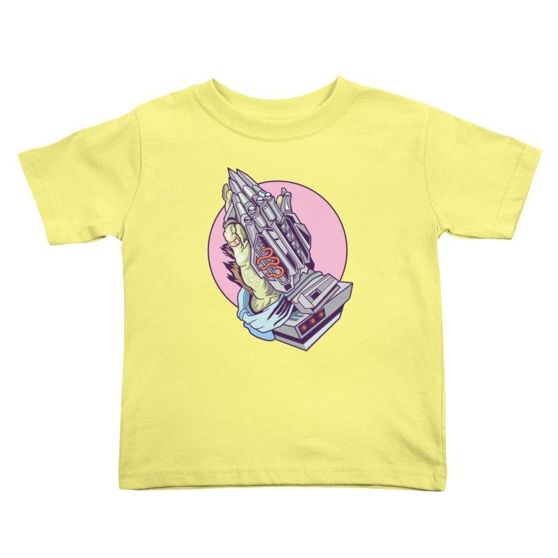 My Metal Prayer Kids Toddler T-Shirt by My Metal Hand Artist Shop