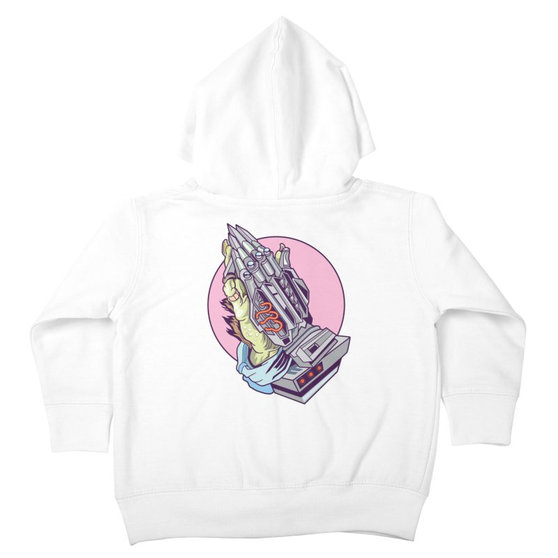 My Metal Prayer Kids Toddler Zip-Up Hoody by My Metal Hand Artist Shop