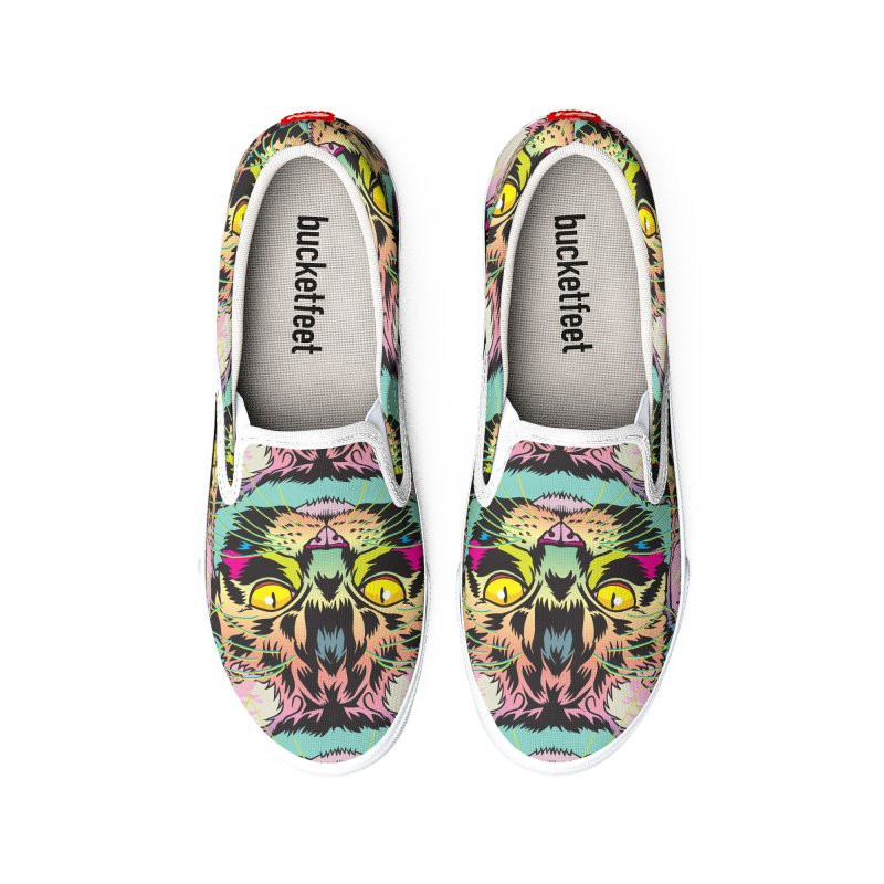 Neon Tabby Women's Shoes by My Metal Hand Artist Shop