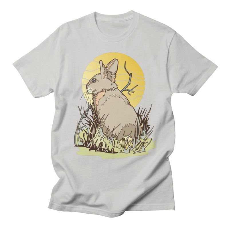 October Rabbit Women's Regular Unisex T-Shirt by My Metal Hand Artist Shop