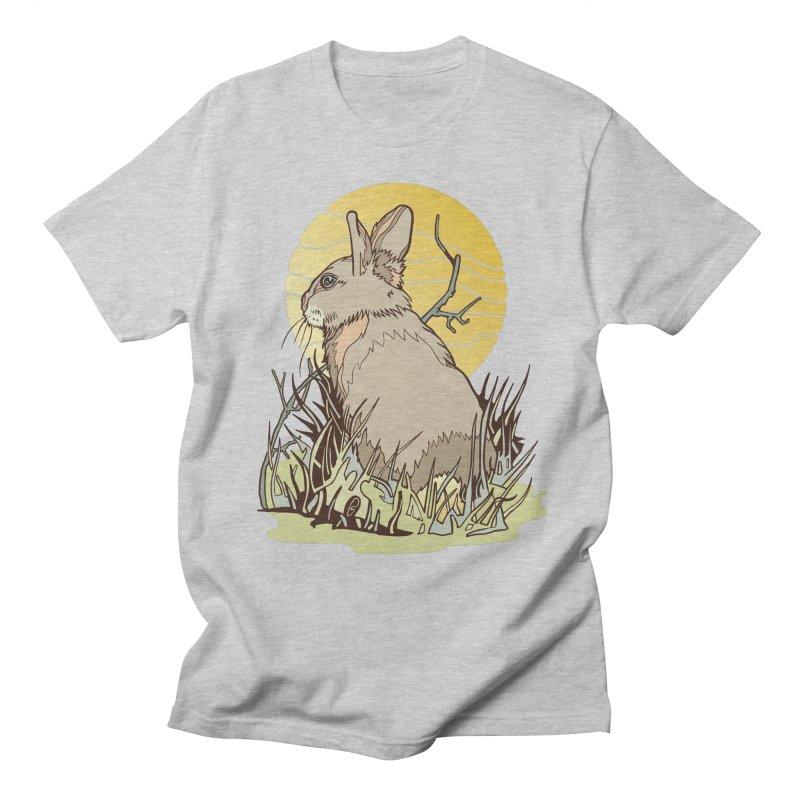 October Rabbit Women's Regular Unisex T-Shirt by My Metal Hand Artist Shop
