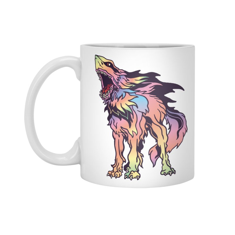 Shark Wolf Spectrum Accessories Standard Mug by My Metal Hand Artist Shop