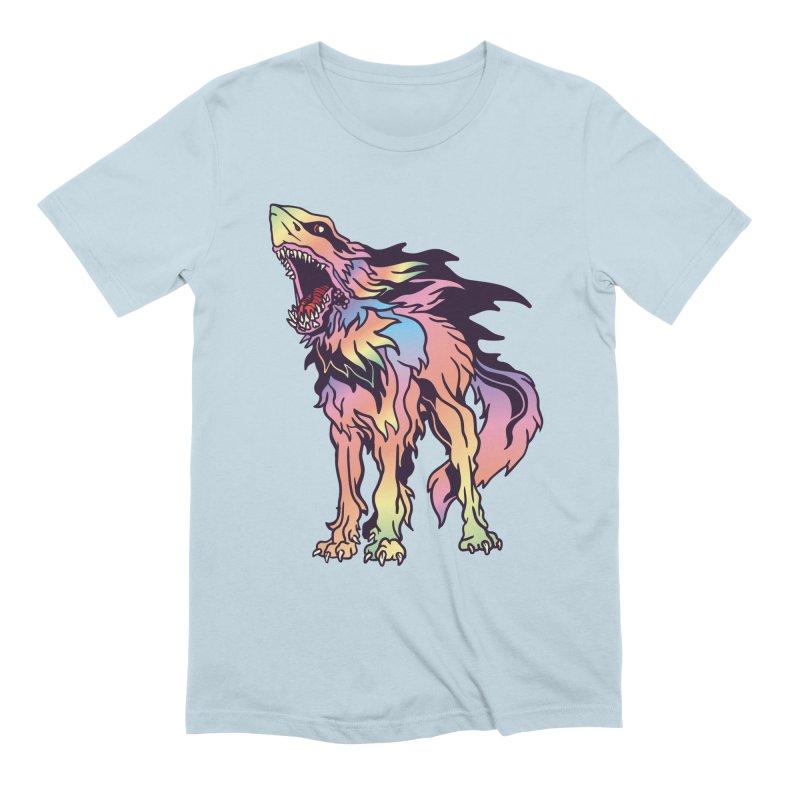 Shark Wolf Spectrum Men's Extra Soft T-Shirt by My Metal Hand Artist Shop