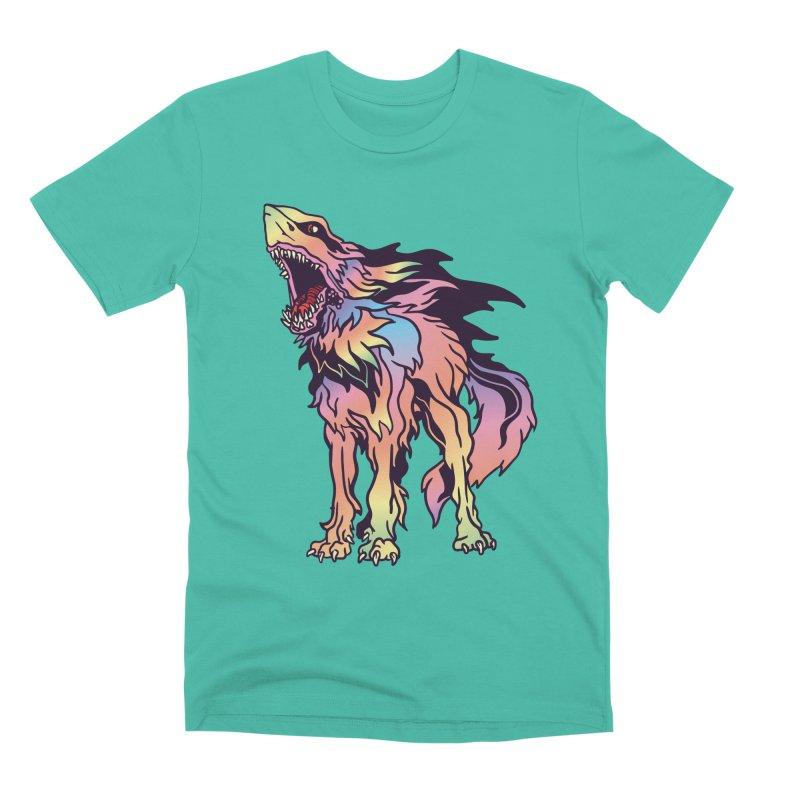 Shark Wolf Spectrum Men's Premium T-Shirt by My Metal Hand Artist Shop