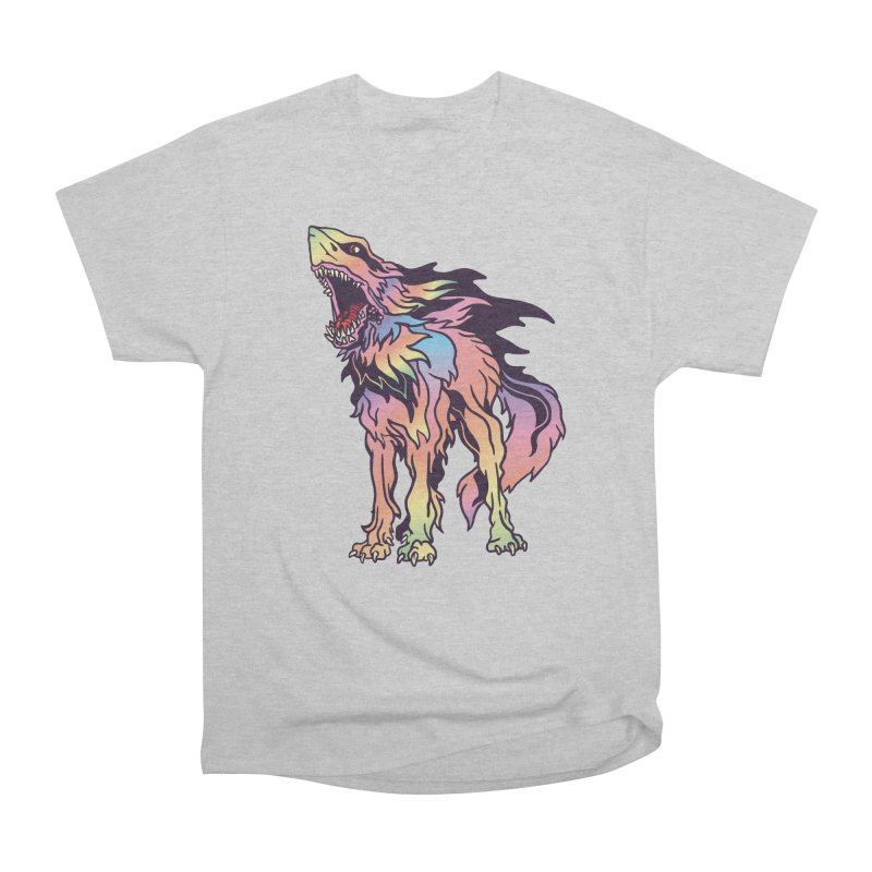 Shark Wolf Spectrum Men's Heavyweight T-Shirt by My Metal Hand Artist Shop
