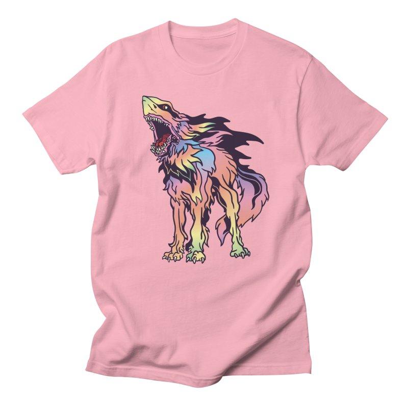Shark Wolf Spectrum Women's Regular Unisex T-Shirt by My Metal Hand Artist Shop