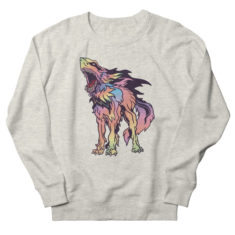 Shark Wolf Spectrum Women's French Terry Sweatshirt by My Metal Hand Artist Shop