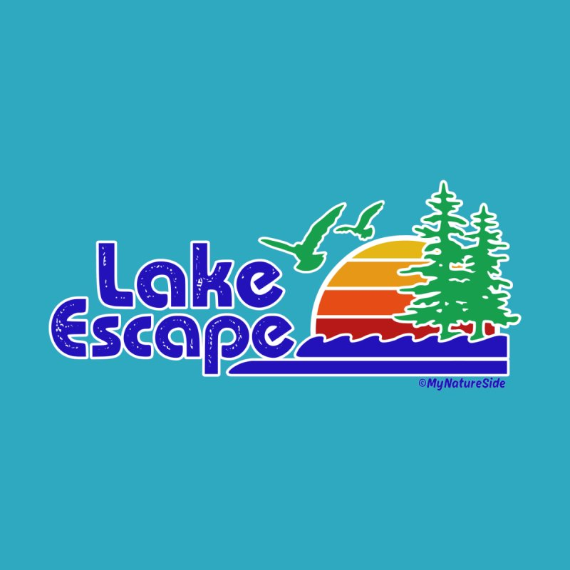 Lake Escape Home Shower Curtain by My Nature Side