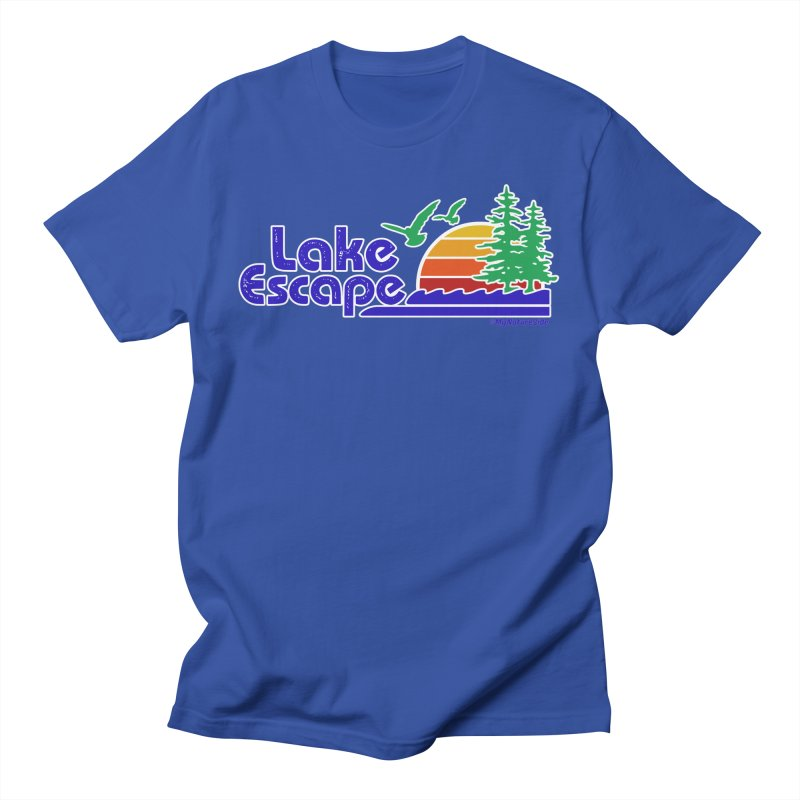 Lake Escape Men's T-Shirt by My Nature Side