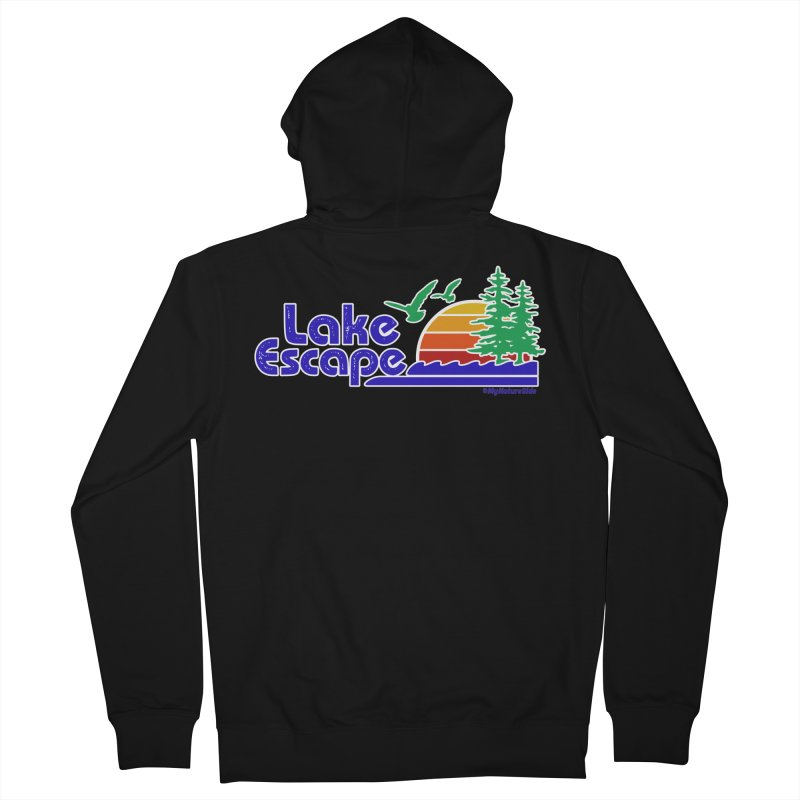 Lake Escape Women's Zip-Up Hoody by My Nature Side