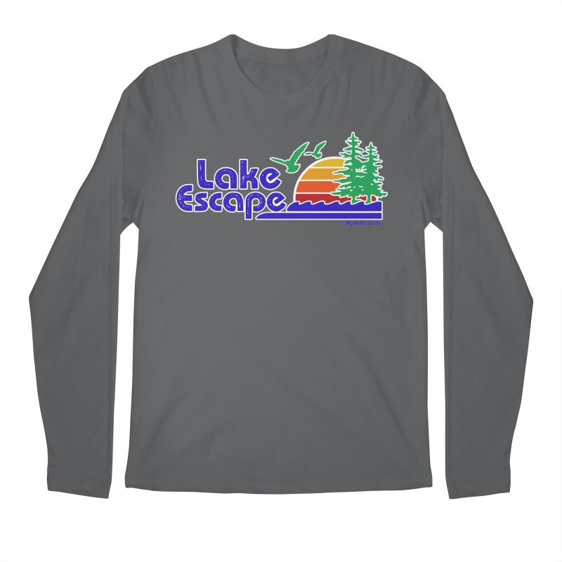 Lake Escape Men's Longsleeve T-Shirt by My Nature Side