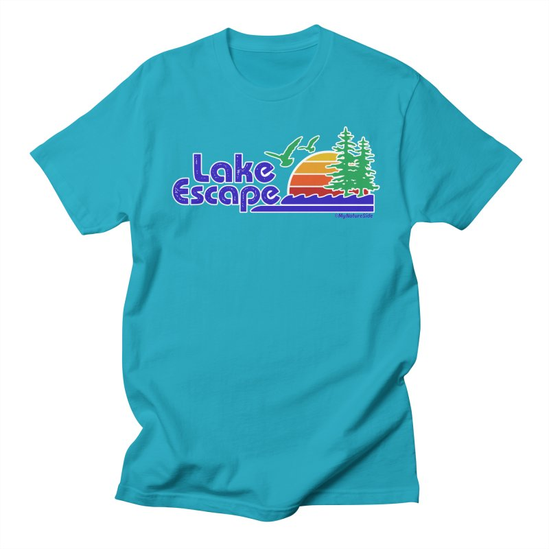 Lake Escape Women's Regular Unisex T-Shirt by My Nature Side